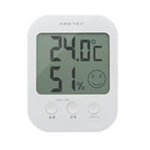 ドリテック O-230WT デジタル温湿度計「オプシス」
