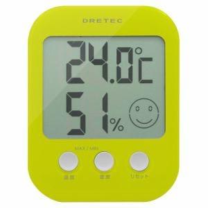ドリテック O-230GN デジタル温湿度計「オプシス」