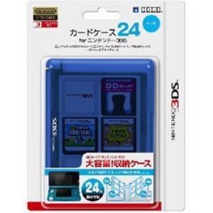 カードケース24 for ニンテンドー3DS ブルー 3DS-021