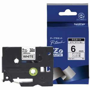 ブラザー ラベルテープ TZE211