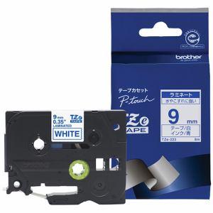 ブラザー ラベルテープ TZE223