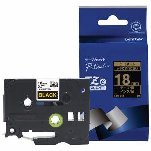 ブラザー ラベルテープ TZE344