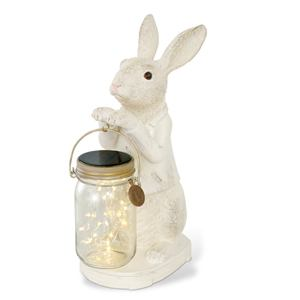 キシマ KL10343 ソーラーガーデンライト(ウサギ) ANIMAL CONCIERGE