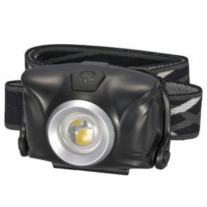 オーム電機 LC-SYW1-K LEDヘッドライト ブラック