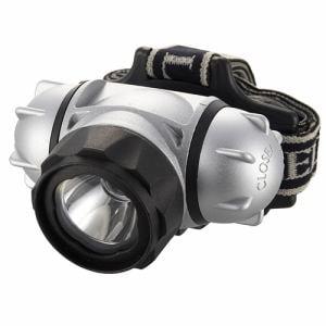 オーム電機 LC-SYW432-S 防水 LEDヘッドライト 200ルーメン
