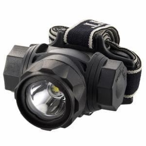 オーム電機 LC-SYW433-K 防水LEDヘッドライト 400ルーメン