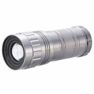 オーム電機 LHA-SP332Z-S LEDズームライト 防水 SPARKLED 800ルーメン