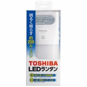 東芝 LKL-3000(W) 人感・明暗センサー付きLEDランタン