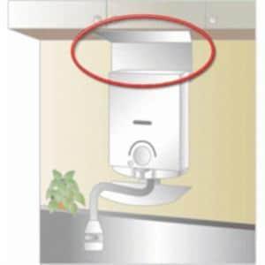 パロマ 5号開放式瞬間湯沸し器用  防熱板 KHC-H