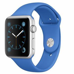 アップル(Apple) MMFM2J/A Apple Watch Sport 42mm シルバーアルミニウムケースとロイヤルブルースポーツバンド