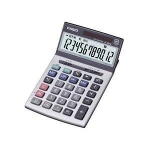電卓 表示が見やすいチルト表示採用/12桁