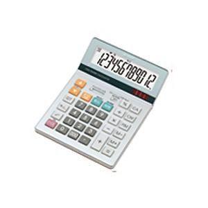 a78e174388 シャープ EL-S882-X グラストップ調デザイン電卓(セミデスクタイプ) 12 ...
