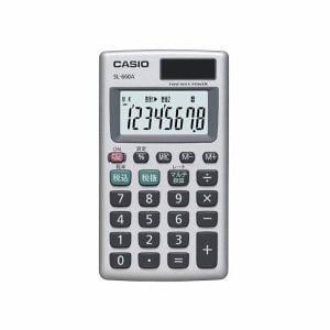 カシオ SL-660A パーソナル電卓 カードタイプ 8桁