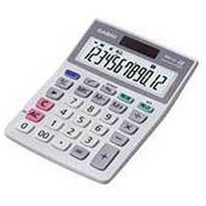 カシオ MW-12A-N 卓上電卓 ミニジャストサイズ 12桁