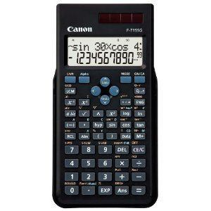 CANON 関数電卓 F-715SG-BK