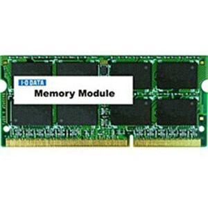 IOデータ SDY1600L-H4G PC3L-12800(DDR3L-1600)対応ノートPC用メモリ DDR3 SDRAM S.O.DIMM(4GB・1枚)