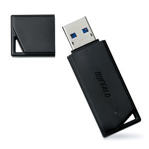 BUFFALO USBメモリ シンプル&コンパクトUSB3.0対応モデル RUF3-K8GA-BK