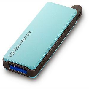 BUFFALO オートリターン機構搭載 USB3.0対応USBメモリー RUF3-PW16G-BL