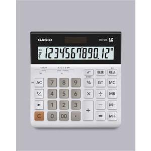 カシオ 横型電卓 デスクタイプ 12桁 DW-120L-N