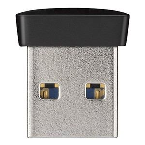BUFFALO USB3.0対応 マイクロUSBメモリー 16GB ブラック RUF3-PS16G-BK