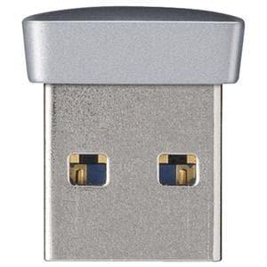 BUFFALO USB3.0対応 マイクロUSBメモリー 64GB シルバー RUF3-PS64G-SV