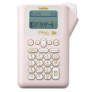 ブラザー ラベルライター ピンク PT-J100P