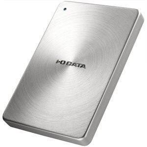 IOデータ HDPX-UTA2.0S USB3.0/2.0対応 ポータブルハードディスク 「カクうす」 2.0TB シルバー