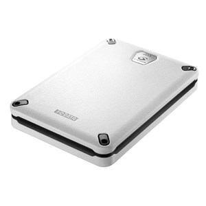 IOデータ USB 3.0/2.0対応 Gセンサー搭載耐衝撃ポータブルハードディスク 500GB ホワイト HDPD-AUT500WB