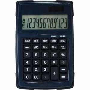 ナカバヤシ 電卓デスクトップ防水タイプS ブルー ECD-WR01BL