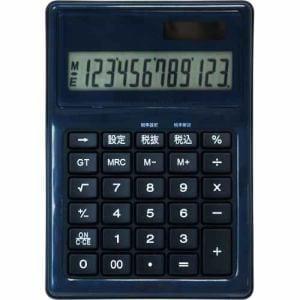 ナカバヤシ 電卓デスクトップ防水タイプM ブルー ECD-WR02BL