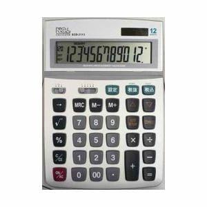 ナカバヤシ 電卓 デスクトップ多機能タイプ L ECD-2113S