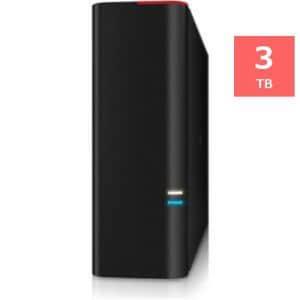 バッファロー DRAMキャッシュ搭載 USB3.0用 外付けHDD 3TB HD-GD3.0U3D