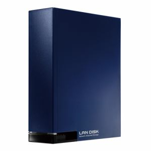 IOデータ ネットワーク接続ハードディスク HDL-Tシリーズ(スタンダードモデル) ミレニアム群青 2TB HDL-T2NVNV
