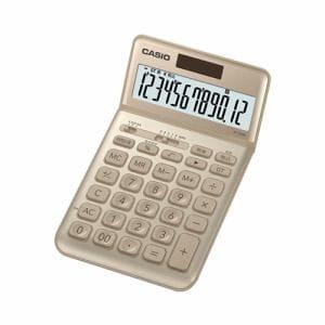 カシオ JF-S200-GD-N スタイリッシュ電卓(12桁) ゴールド