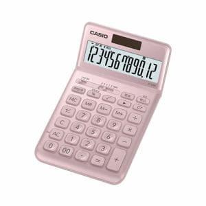 カシオ JF-S200-PK-N スタイリッシュ電卓(12桁) ライトピンク