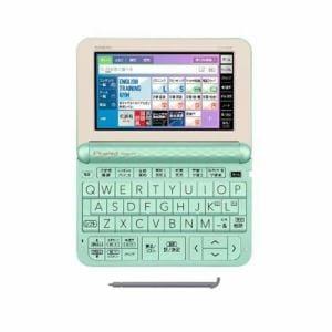 カシオ XD-Z4800GN 電子辞書 「EX-word(エクスワード)」 (高校生モデル 209コンテンツ収録) グリーン