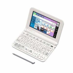 カシオ XD-Z4900WE 電子辞書 「EX-word(エクスワード)」 (高校生進学校モデル 229コンテンツ収録) ホワイト
