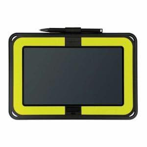 キングジム BB-10キミドリ 電子メモパッド 「ブギーボード」 横型モデル 黄緑