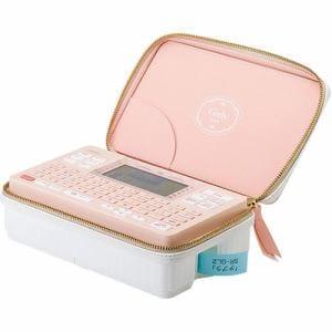 キングジム SR-GL2 ラベルライター 「テプラ PRO Girly」 コーラルピンク