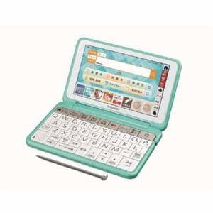 シャープ PW-AJ1G カラー電子辞書 中学生向けモデル 150コンテンツ収録 グリーン