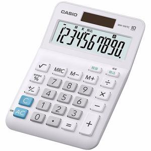 カシオ MW-10VTC-N スタンダード電卓 10桁
