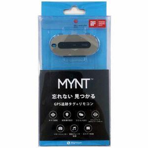 ウイルコム M01S-SL MYNT GPS追跡タグ+リモコン シルバー