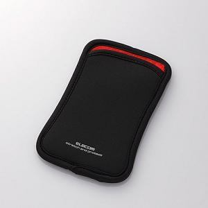 エレコム スマートフォン用スリップインポーチ(Lサイズ) P-02SNCBKBK