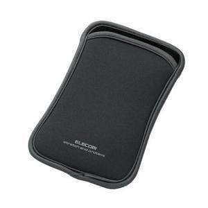 エレコム スマートフォン用スリップインポーチ(Lサイズ) P-02SNCGYGY