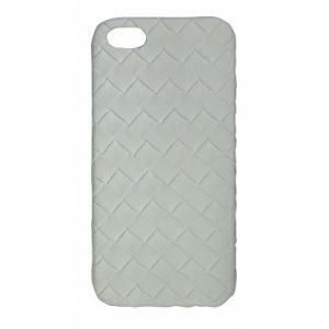 オウルテック iPhone 5専用 メッシュデザインーケース ホワイト OWL-CVIP22(WH)