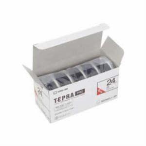 KING JIM テプラPROテープカートリッジ エコパック(5個入り) SS24KL-5P