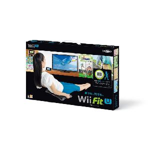 任天堂 Wii Fit U バランスWiiボード(クロ) + フィットメーターセット