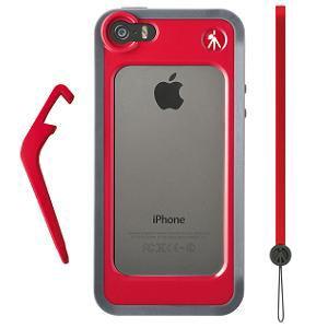 マンフロット MCKLYP5S-R iPhone 5/5S用 KLYP + バンパー レッド