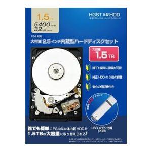 アイレックス 2.5インチ内蔵型ハードディスク セット(1.5TB) ILX4P090
