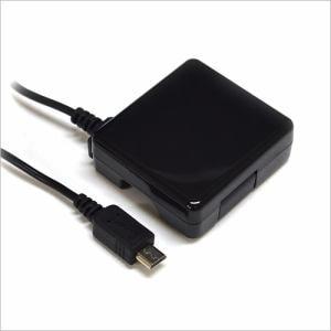 ラスタバナナ RBAC075 マイクロUSB AC充電器   ブラック